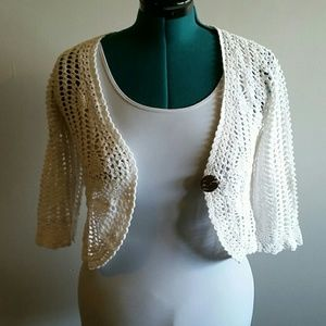 BUNDLE GUC cropped cardigan size small